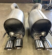FS - C6 Z06 mufflers with NPP valves.