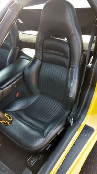 C5 Driver's Sport Seat Back Wanted