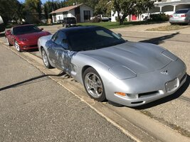 Spotted a Silver C5 For Sale