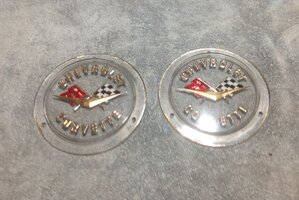 Front and rear emblems for 58-60