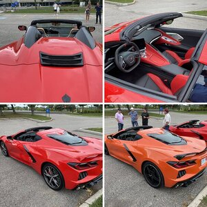 C8 Meet Up in Oshawa Sept 5 2020 at GM Canada HQ