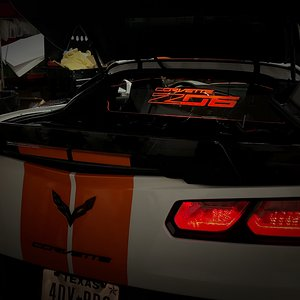 Z06 WindRestrictor® Orange